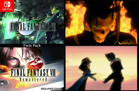 Final Fantasy VII & VIII Remastered Twin Pack Dikonfirmasi Akan Hadir di Switch