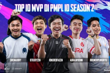 Ini Dia Top 10 MVP di PMPL Indonesia Season 2 Regular Season