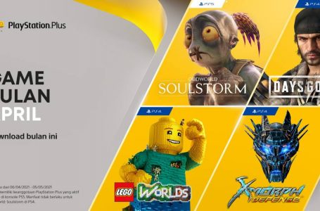 Free Games Playstation Plus Region 3 Periode April 2021